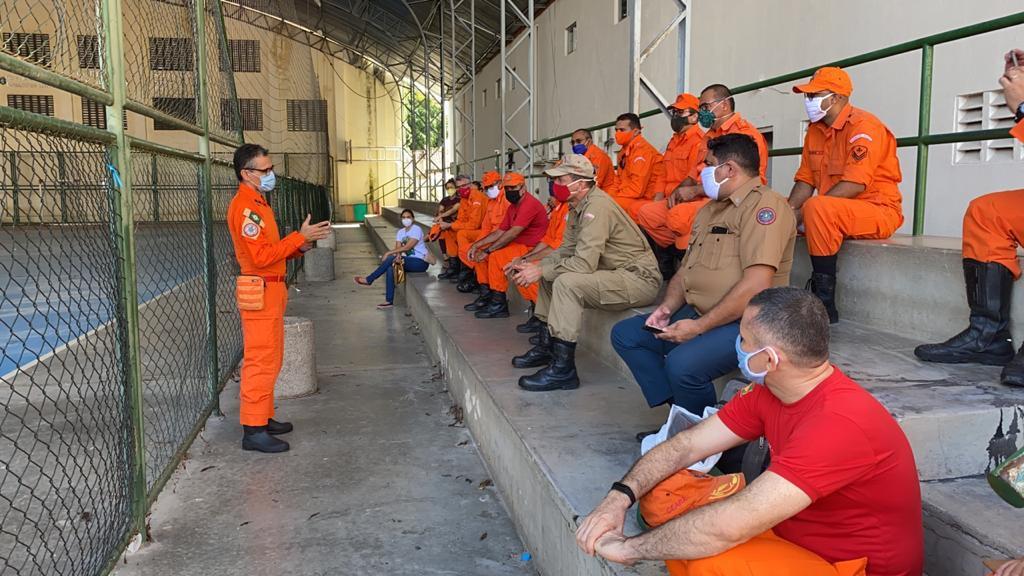 [COVID-19] Comando de Engenharia prepara setor de atendimento